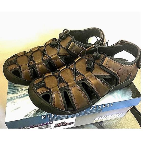 3f94dd7e209 Khombu Men s TRAVIS Active Sandals BROWN